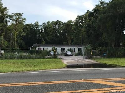 Homosassa, Dunnellon Commercial For Sale: 8144 W Grover Cleveland Boulevard