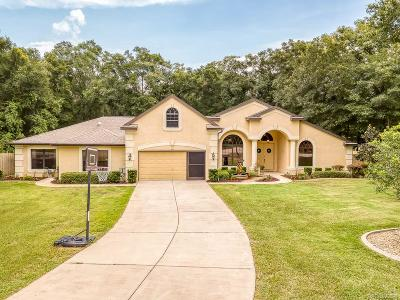 Hernando Single Family Home For Sale: 5195 N Ironstone Terrace