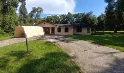 Inverness Single Family Home For Sale: 6344 E Tudor Street