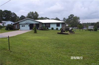 Lecanto FL Single Family Home For Sale: $230,000