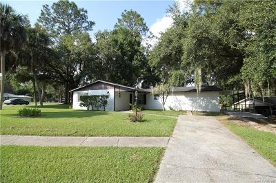 Citrus Springs Single Family Home For Sale: 10122 N Academy Drive