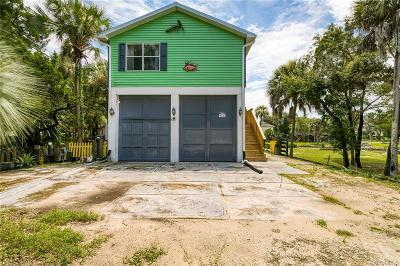 Crystal River Single Family Home For Sale: 1446 S Estuary Drive