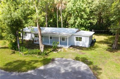 Homosassa Single Family Home For Sale: 5360 S Elm Avenue