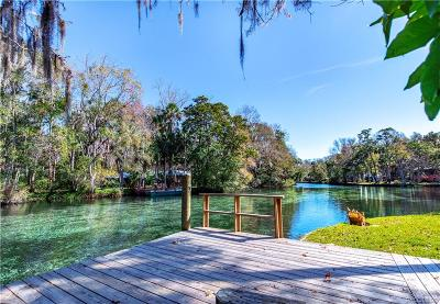 Homosassa Single Family Home For Sale: 9373 W Bob Court
