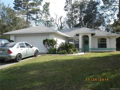 Citrus Springs Rental For Rent: 8497 N Pocono Drive