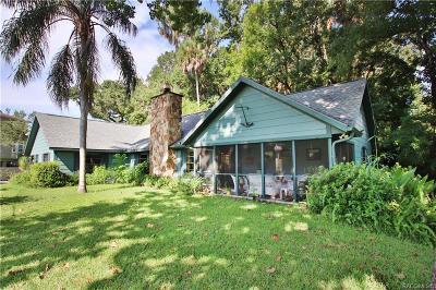 Homosassa, Dunnellon Single Family Home For Sale: 9381 W Bob Court