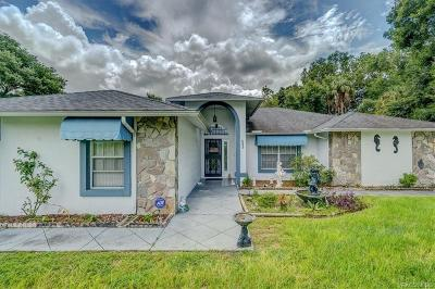 Homosassa Single Family Home For Sale: 8490 W Longfellow Street