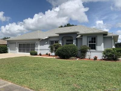 Hernando Single Family Home For Sale: 3971 E Arbor Lakes Drive