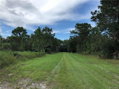 Crystal River Residential Lots & Land For Sale: 8663 N San Filippo Loop