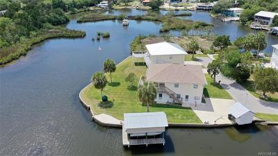 Citrus County Single Family Home For Sale: 2095 S Schooner Drive