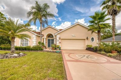 Citrus County Single Family Home For Sale: 33 Speceberry Circle