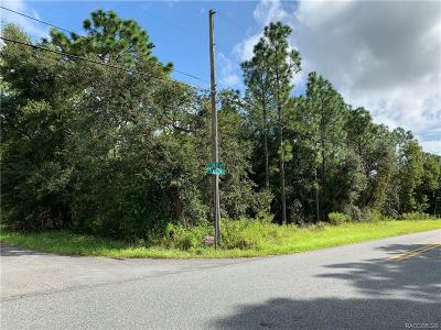 Inverness Residential Lots & Land For Sale: 5781 S Luray Terrace