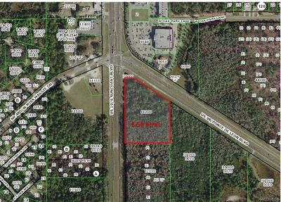 Homosassa Residential Lots & Land For Sale: 7138 W Ponce De Leon Boulevard