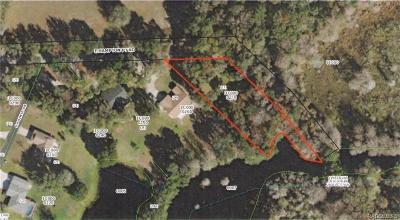 Citrus County Residential Lots & Land For Sale: 9222 E Hampton Point Road