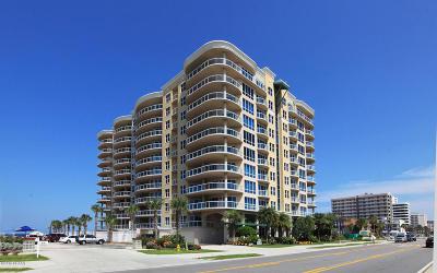 Daytona Beach Shores Condo/Townhouse For Sale: 3703 S Atlantic Avenue #406