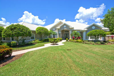 Hammock Dunes Single Family Home For Sale: 84 Island Estates Parkway