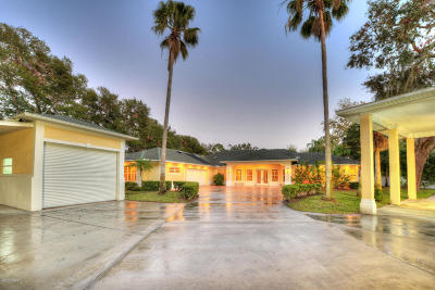 Port Orange Single Family Home For Sale: 6007 S Williamson Boulevard