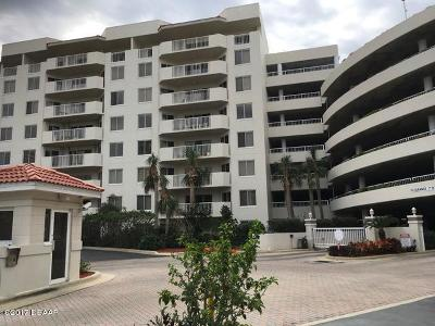 Daytona Beach Shores Condo/Townhouse For Sale: 3 Oceans West Boulevard #3A6