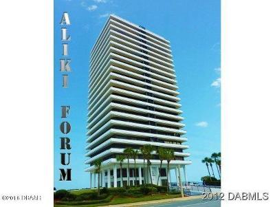 Daytona Beach Condo/Townhouse For Sale: 2200 N Atlantic Avenue #401