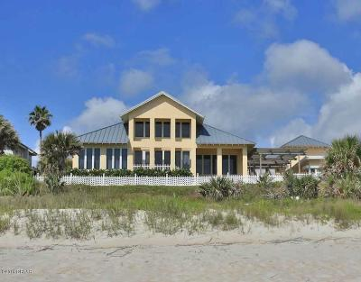 Flagler County, Volusia County Single Family Home For Sale: 431 Ocean Shore Boulevard