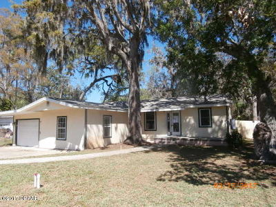 Volusia County Single Family Home For Sale: 1711 Evergreen Street