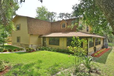 Port Orange Single Family Home For Sale: 6151 Shoreline Drive
