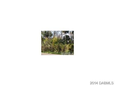 Volusia County Residential Lots & Land For Sale: 1100 15th Street