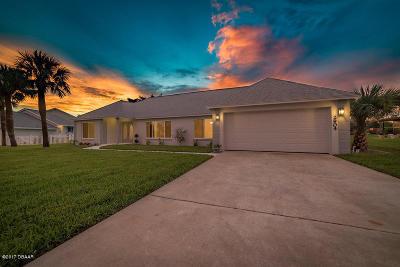 Daytona Beach Shores Single Family Home For Sale: 2904 River Point Drive