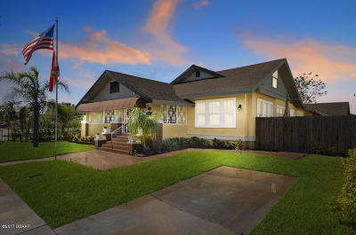 New Smyrna Beach Single Family Home For Sale: 318 Palmetto Street