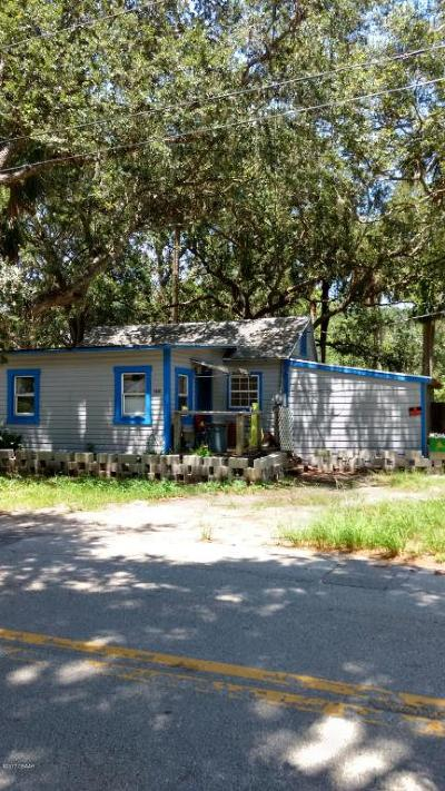 New Smyrna Beach Single Family Home For Sale: 1043 S Myrtle Avenue