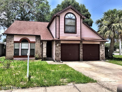 Volusia County Single Family Home For Sale: 1601 Taylorwood Drive