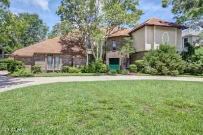 Tomoka Oaks Single Family Home For Sale: 2 Waterfront Court