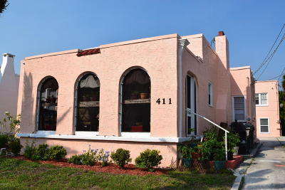 Volusia County Multi Family Home For Sale: 411-413 N Oleander Avenue