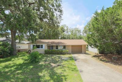 New Smyrna Beach Single Family Home For Sale: 209 Ponce Street