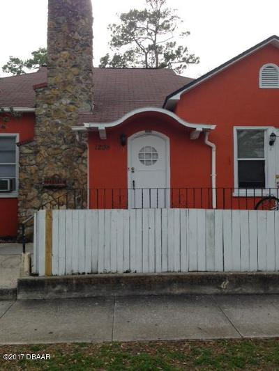 Daytona Beach Multi Family Home For Sale: 1208 S Ridgewood Avenue