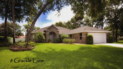 Ormond Lakes Single Family Home For Sale: 8 Grackle Lane