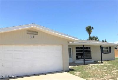 Volusia County Single Family Home For Sale: 11 Raymonde Circle