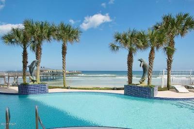 Daytona Beach Shores Condo/Townhouse For Sale: 3703 S Atlantic Avenue #705
