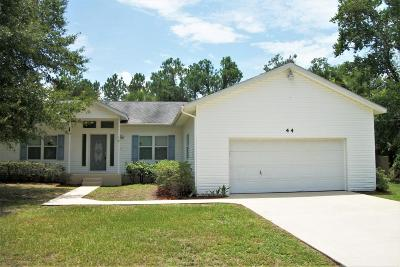 Palm Coast Single Family Home For Sale: 44 Sloganeer Trail