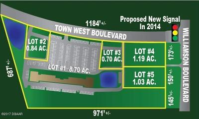 Port Orange Residential Lots & Land For Sale: Town West Boulevard