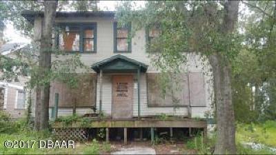 Volusia County Multi Family Home For Sale: 319 San Juan Avenue