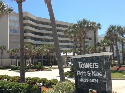 Ponce Inlet Condo/Townhouse For Sale: 4621 S Atlantic Avenue #7605