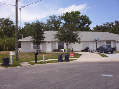 Volusia County Multi Family Home For Sale: 5001 Sail Court