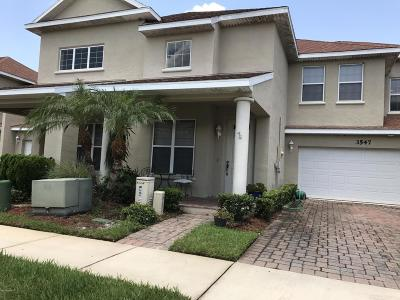Volusia County Attached For Sale: 3547 Romea Circle