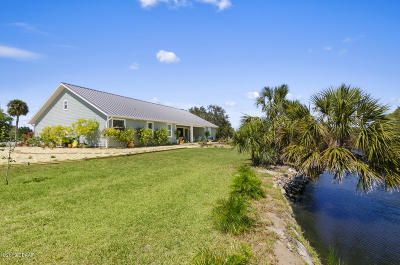 Volusia County Single Family Home For Sale: 605 Bay Drive