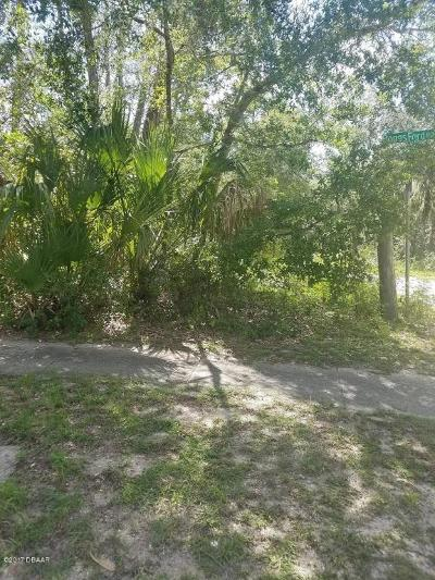 Volusia County Residential Lots & Land For Sale: 14 Peterson Lane