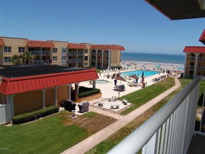 New Smyrna Beach Condo/Townhouse For Sale: 3801 S Atlantic Avenue #319
