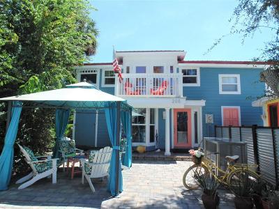 New Smyrna Beach Single Family Home For Sale: 205 Cedar Avenue