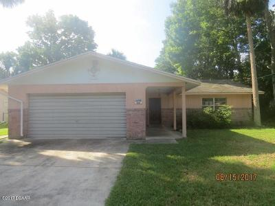 Holly Hill FL Single Family Home For Sale: $134,900