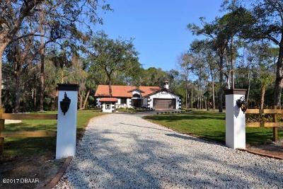 Flagler Beach Single Family Home For Sale: 11 Trail Run